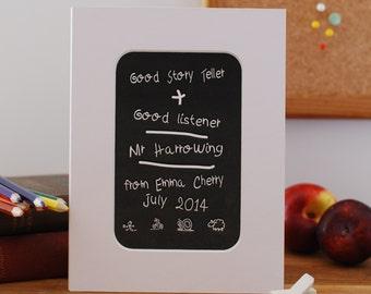 Personalised Teachers Print