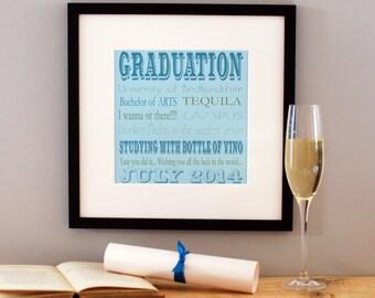 Graduation Memory Print