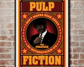 Pulp Fiction: The Preacher Jules Winnfield Movie Poster