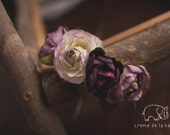 Purple Rose Maternity Crown Photography Prop