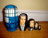 Set of Five Doctor Who Nesting Dolls