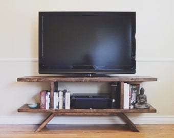 Reclaimed Wood Entertainment Center