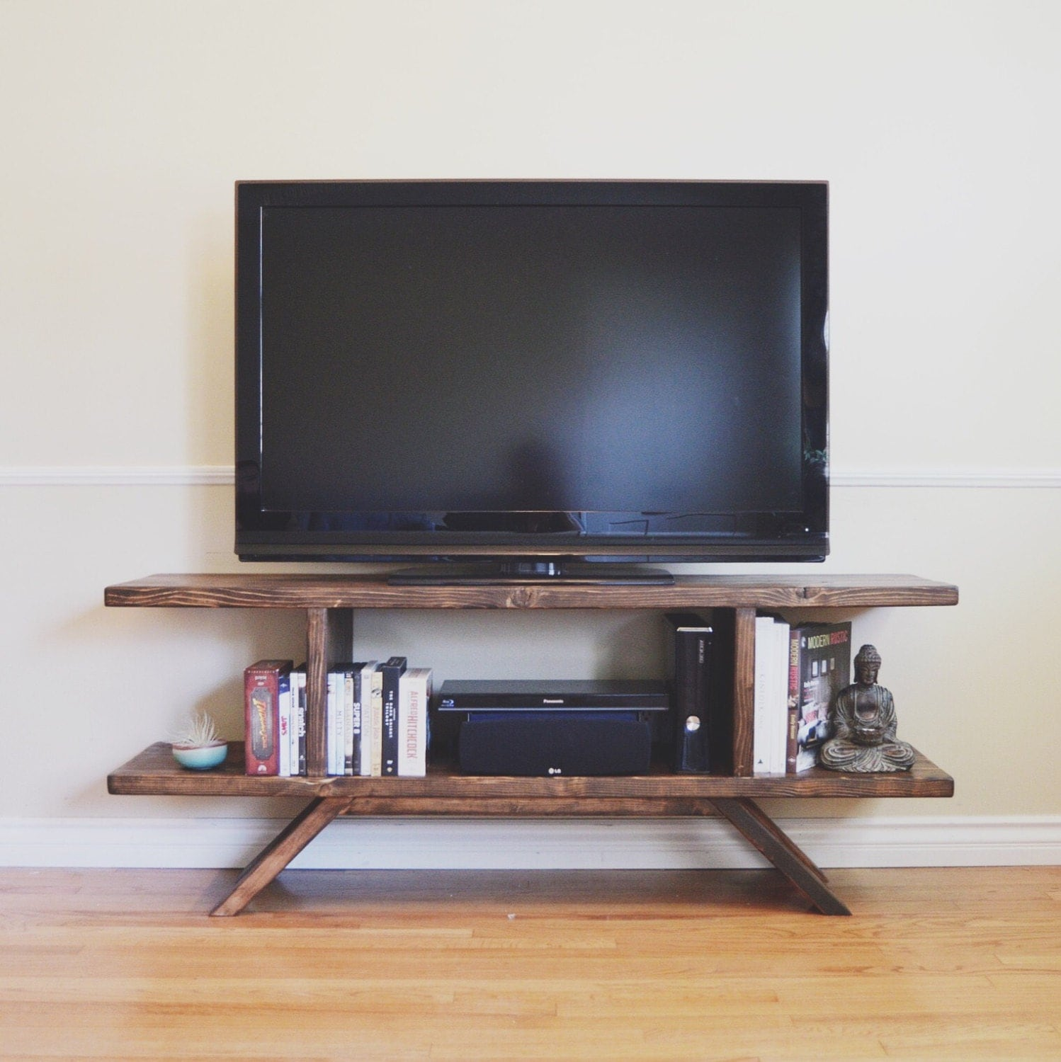 Reclaimed Wood Entertainment Center By Localtimber On Etsy