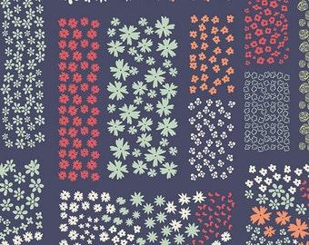 Cultivate - Floriculture in Midnight - Bonnie Christine for Art Gallery Fabrics - CUL-8679 - 1/2 yard