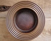 Vtg Ulla Procope Arabia Finland Rimmed Bowl Ruska Finnish Pottery