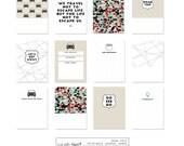 Digital Journal Cards – Road Trip Card Set