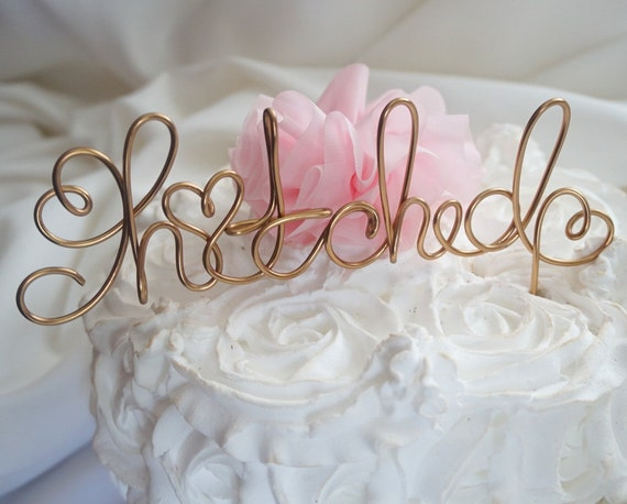 Etsy Cake Decor : Items similar to Country Cake Topper, Rustic Wedding Decor ...