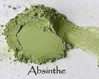 Absinthe Vegan Eye Shadow - Cruelty Free Mineral Eye Shadow- 3g of product in a 10g sifter jar