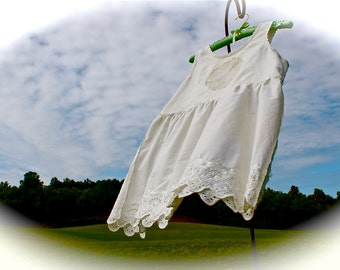 Rustic Burnt Sugar Organic Babydoll Top  Boho Linen/Cotton Shirt Summer Soft Beachware