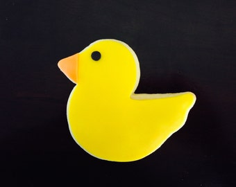 Duck Rubber Ducky Cookie Favors