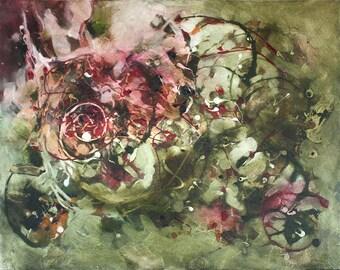 Art, Abstract Art, Oil Painting, 16x20, Wall Art, Original Art