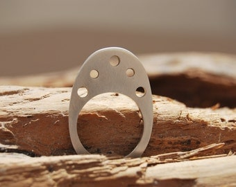 Minimal contemporary handmade ring