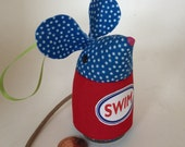 SWIM Lavender stuffed Sachet Mouse Ornament