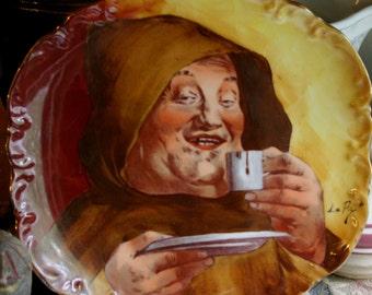 Limoges Coronet Le Pic Monk Plate Circa 1910