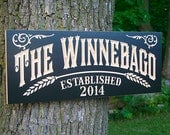 Personalized Pub Sign, Personalized Pub Sign, Brewery Sign, Awesome Manly Gift, Benchmark Custom Signs Maple WG
