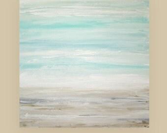 Art Painting, painting, large painting,acrylic painting, landscape Painting , Acrylic painting, Wall Decor Ora Birenbaum The Beach 8