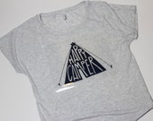 Happy camper// Loose, comfy tri-blend womens' T-shirt