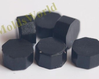 S041 35 Pcs Black Sealing Wax Beads for Wax Seal Stamp