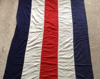 Antique banner flag