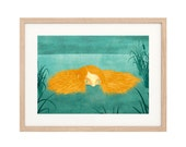 Ava of the Everglades - Large Art Print - Sustainably Printed