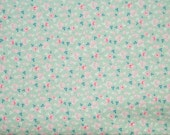 Tilda Fabric Stine Grey Green Country Escape Floral Sold by the Half Metre Ideal for Patchwork - UK Shop - Craft Supplies