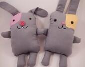 Al's Pals Bunny stuffed animals soft friends quiet time toy rabbit plushie children's gift