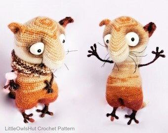 089 Funny Cat with wire frame - Amigurumi Crochet Pattern PDF file by Pertseva Etsy