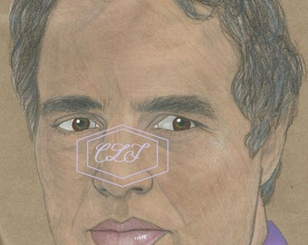 The Hulk Bruce Banner Mark Ruffalo Drawing