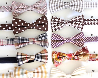 Many colors to choose from, Pre tied Bow Tie for wedding and everyday!