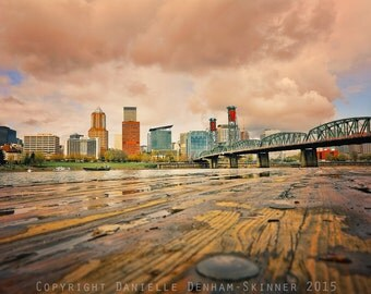 Portland Oregon Print | Skyline | Cityscape | Unique Portland Oregon Photo | Oregon Photography | Portland Waterfront