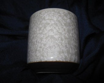ceramic cup crystalline glaze height 7 cm  diam.6,4 cm excellent condition