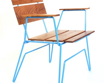 701 cafe chair, stacking chair, dining chair, modern