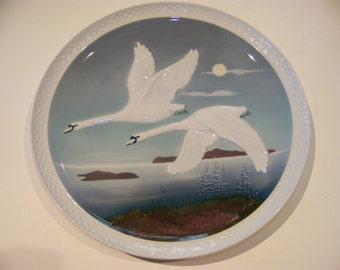 "Hutschenreuther ""Heading South"" plate"