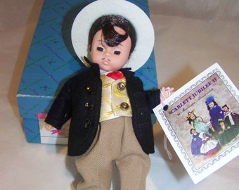 Gone with the Wind Rhett 8 inch doll Madame Alexander Jubilee
