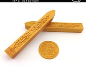 Gold Sealing Wax - standard or fit for glue gun (set of two) - Gold - Color A