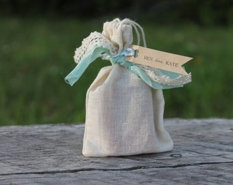 Shabby Chic Soap Favors- Weddings-Bridal-Baby-Showers-Place Card Favors-Save the Date-Belle Savon Vermont
