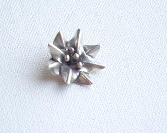 Hill Tribe Thai Silver Flower