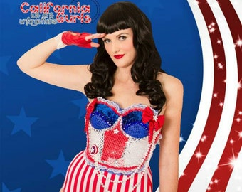 Katy Perry inspired America outfit