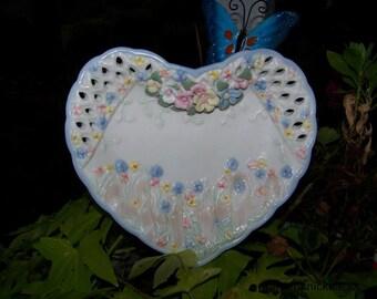 Garden Flower Plates
