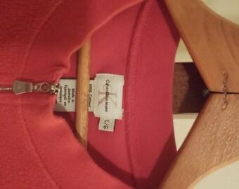 SIZE L Calvin Klein/CK red vest