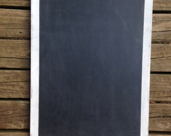 Custom Made Simple Classy Shabby and Distressed Chalkboard for Home, Office and Weddings  Kitchen Decor Grocery List House warming