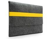 "20%OFF!11"" 13'' 15"" 17"" Felt Macbook Air Macbook Sleeve Macbook Case15'' Macbook Retina Pro Laptop Sleeve Case Laptop Bag Yellow Band E1148"