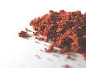 FLUSHED Mineral Blush Warm Red: Natural & Vegan Makeup Color; Sample Size