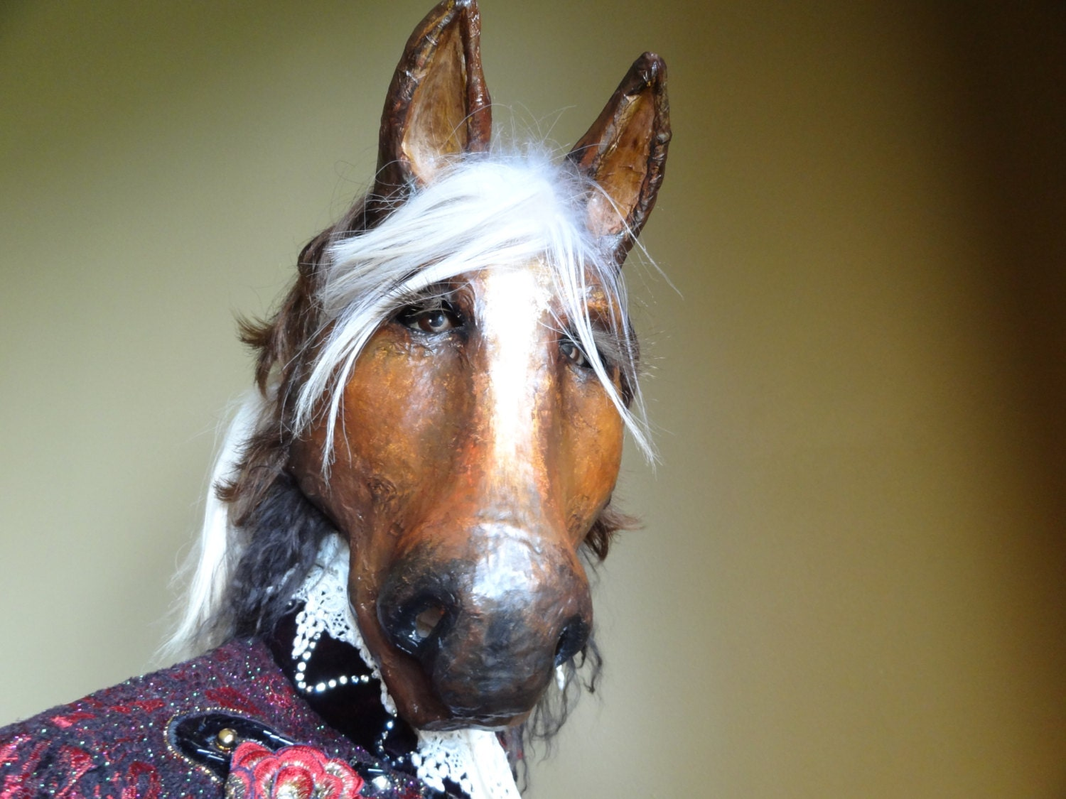 Pin on Horses  Pony Paper Mask
