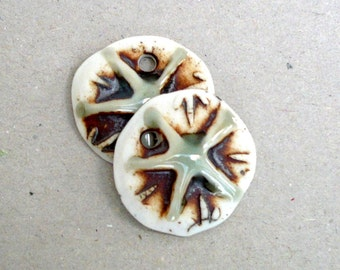Porcelain Pendants, Jewlery Supplies, Earring Components, Gift Wrapping