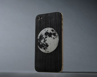 Lunar iPhone 4/4s Real Wood Skin - Made in the USA - FREE Shipping