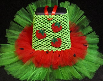 Sweet as Strawberry Tutu Costume