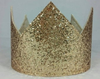 Chunky Glitter Birthday Crown, Large Birthday Crown