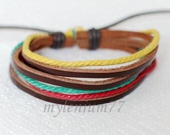 541 Men bracelet Women bracelet Bands bracelet Cords bracelet Ropes bracelet Bangle bracelet Leather bracelet Fashion jewelry