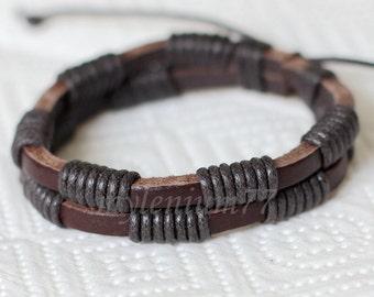 293 Men bracelet Women bracelet Bands bracelet Cords bracelet Ropes bracelet Bangle bracelet Leather bracelet Fashion bracelet
